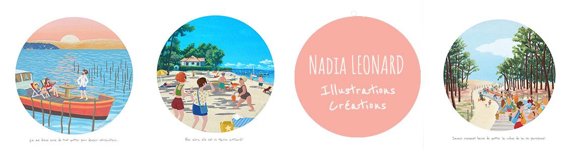Nadia Leonard - Illustratrice Auteure